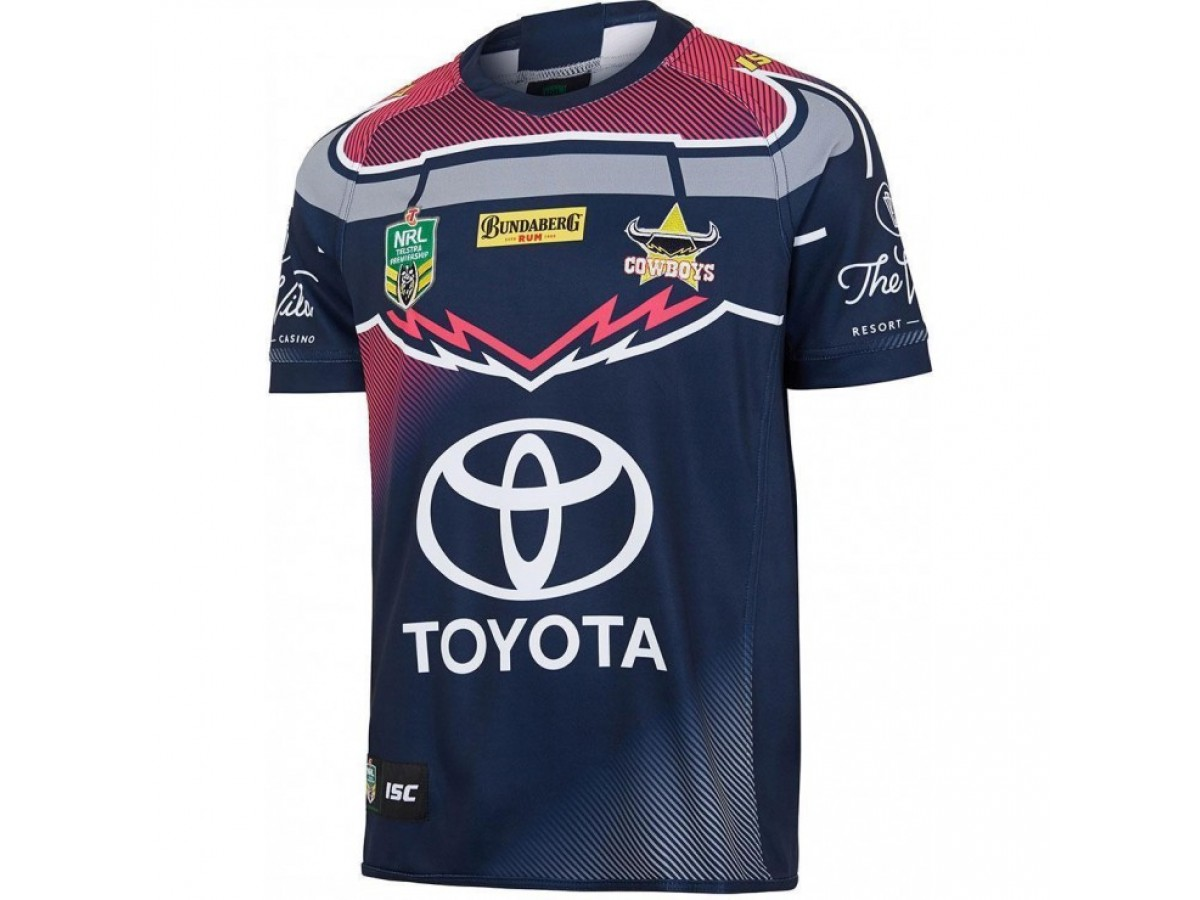 5ccdd323b North Queensland Cowboys 2018 Adults  WIL  Jersey